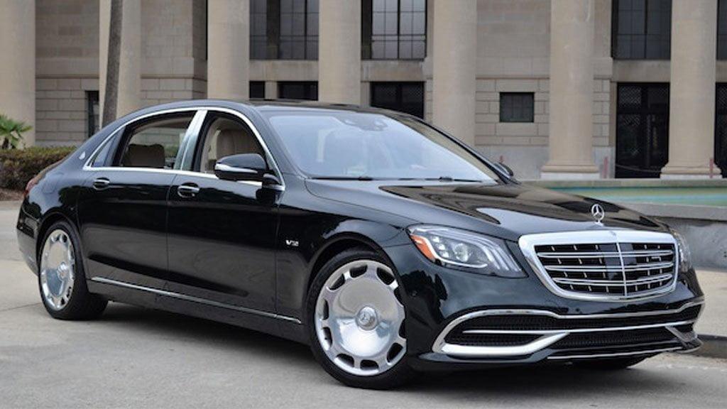 luxury chauffeur service maybach